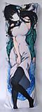 Дакімакура Подушка обнімашка 100х40 см із змінною наволочкою Міюкі Шиба (Mahouka), фото 2
