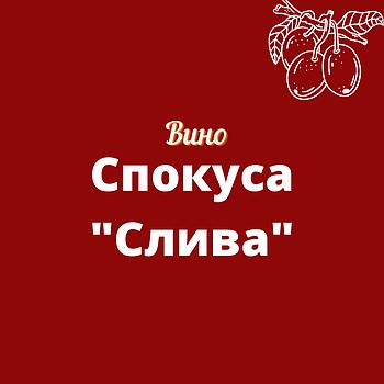"""Вино """"Спокуса"""" (слива-смородина) красное полусладкое столовое ТМ """"Грослибенталь"""" пак"""