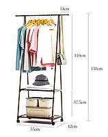Пересувна підлогова вішалка для одягу THE NEW COAT RACK, фото 1