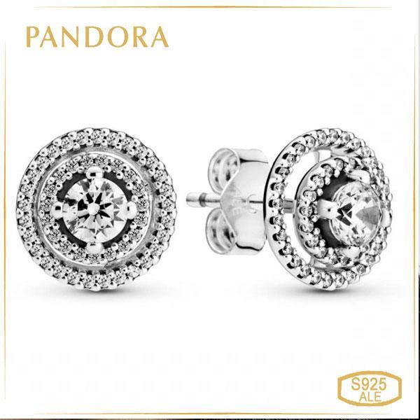 Пандора Сережки-пуссети Сяйво Pandora 299411C01