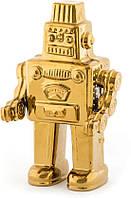 Робот фарфор, золото