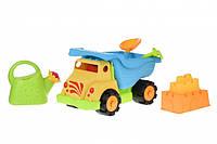 Same Toy Набор для игры с песком Грузовик желтый (6 ед.), фото 1