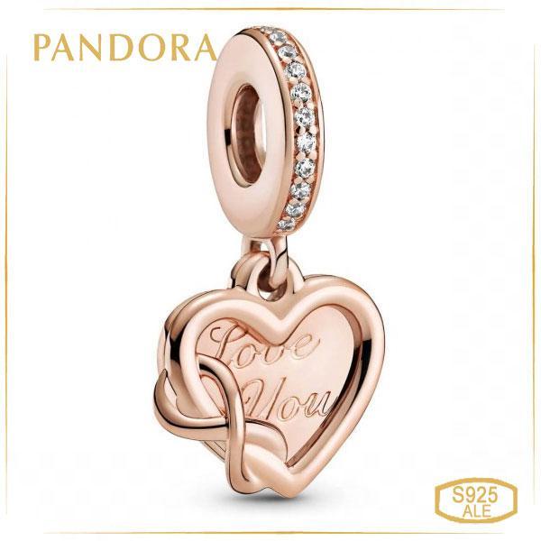 Пандора Шарм-подвеска Бесконечная любовь Rose Pandora 789369C01