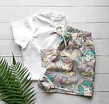 Домашній костюм-піжама з єдинорогами, футболка і штани, фото 4