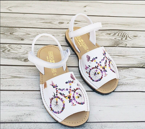 Детская испанская обувь- аварки, сандалии, туфли