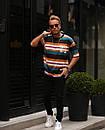Мужская футболка в полоску WE, фото 2