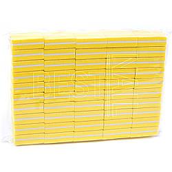 Мини баф 20*33 мм желтый (50 шт)
