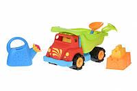Same Toy Набір для гри з піском Вантажівка червоний (6 од.), фото 1