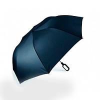 Складаний парасолька Lexon Mini Hook з ручкою-крюком, синій