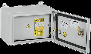 Ящик с понижающим трансформатором ЯТП-0,25 230/24-3 УХЛ2 IP54 IEK