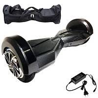 Гироскутер Гироборд Smart Balance 8 дюймов  карбон Гіроскутер Elite lux автобаланс