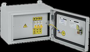 Ящик с понижающим трансформатором ЯТП-0,25 230/42-3 УХЛ2 IP54 IEK