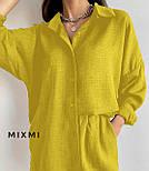 Костюм жіночий літній з шортами і сорочкою, фото 5