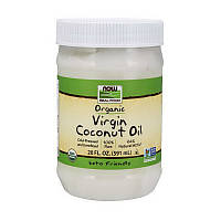 Кокосовое масло Now Foods Organic Virgin Coconut Oil 591 мл