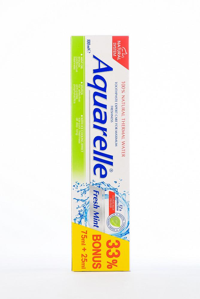 Aquarelle Зубна паста Fresh Mint 75ml+25ml