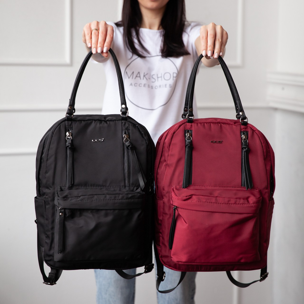 Трендовая сумка-рюкзак