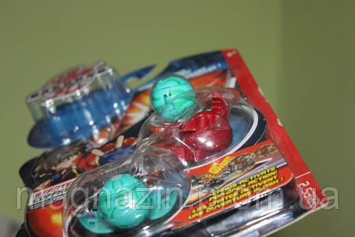 Игрушка Bakugan - стартовый набор 3 в 1 (original), фото 2