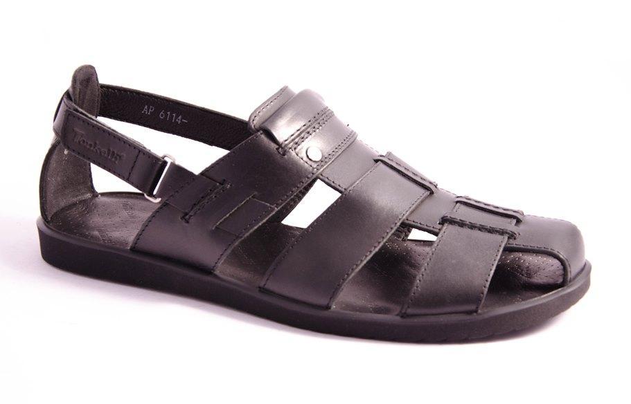 Сандалии мужские черные Tonkelli 6114