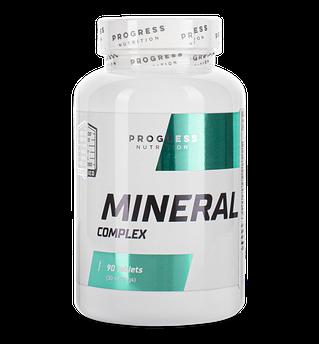Мінеральний комплекс Progress Nutrition Mineral Complex 90 таблеток