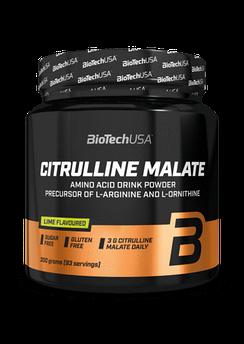 Л-Цитрулін малат BioTech Citrulline Malate 300 г лайм