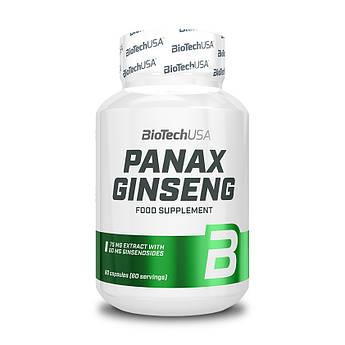 Женьшень экстракт BioTech Panax Ginseng 60 капсул