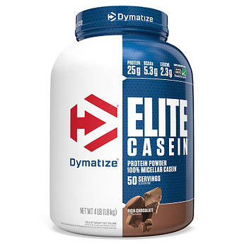 Казеин Dymatize Elite Casein 1800 грамм Шоколад