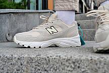 Кросівки чоловічі New Balance 530 Biege Нью Беланс 530 Бежеві Репліка, фото 2