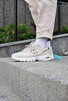 Кроссовки мужские New Balance 530 Biege Нью Беланс 530 Бежевые Реплика, фото 3