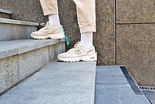 Кроссовки мужские New Balance 530 Biege Нью Беланс 530 Бежевые Реплика, фото 2