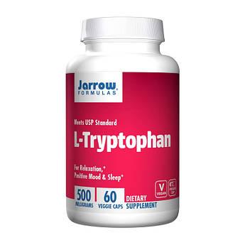 L-триптофан Jarrow Formulas L-Tryptophan 60 капсул
