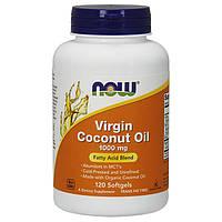 Кокосовое масло Now Foods Virgin Coconut Oil 1000 mg (120 капс) нау фудс