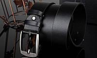 Мужской классический кожаный ремень. Две разновидности, фото 5