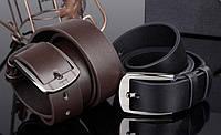 Мужской классический кожаный ремень. Две разновидности, фото 7