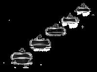 Матрицы Palodent V3, размер 4,5 мм, 50 шт.
