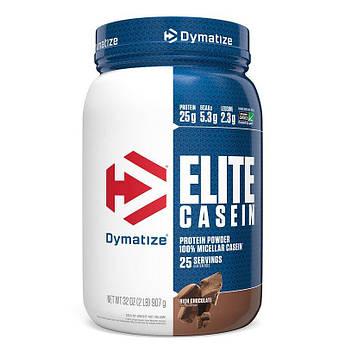 Казеин Dymatize Elite Casein 909 грамм Шоколад