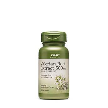Корінь валеріани екстракт GNC Valerian Root Extract 500 mg 50 капсул