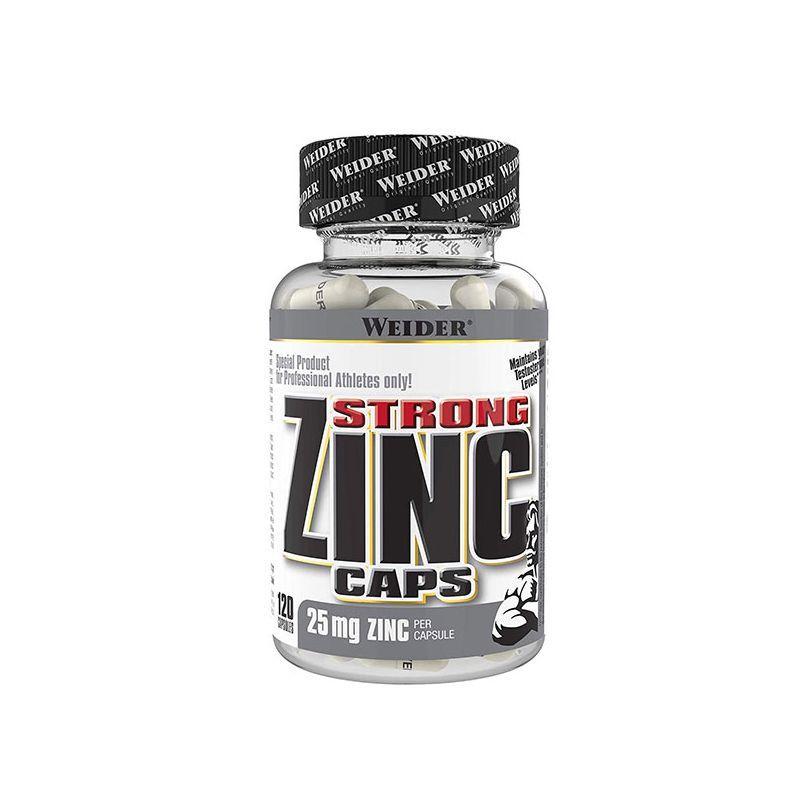 Цинк Weider Strong Zinc Caps 25 mg 120 caps