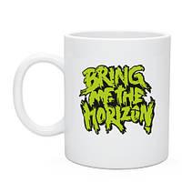 Кружка Bring me the horizon green