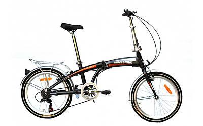 "Складаний велосипед сталевий 20"" Crossride City Folding"