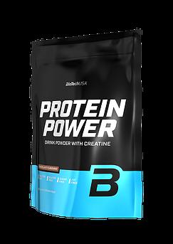 Комплексный протеин BioTech Protein Power (1000 г) биотеч повер клубника-банан