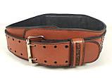 Пояс атлетический EasyFit Training Belt (коричневый), фото 4