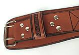 Пояс атлетический EasyFit Training Belt (коричневый), фото 5