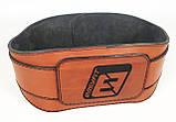 Пояс атлетический EasyFit Training Belt (коричневый), фото 7