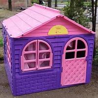 Детский Пластиковый Домик для Улицы Большой, фото 1