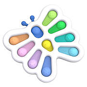 Simple Dimple Антистрес Іграшка Сімпл Дімпл - Pop It - Поп Іт - Попит - Popit) - Біла Метелик - 10 пупырок