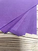 Бкмага пергамент в листах 20 шт, ф.200*300мм, плотность 50/м2, цвет сиреневый/лиловый
