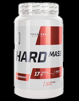 Гейнер для набора массы Progress Nutrition Hard Mass 1000 г Клубника