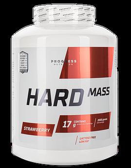 Купити для набору маси Progress Nutrition Hard Mass 2000 р Полуниця