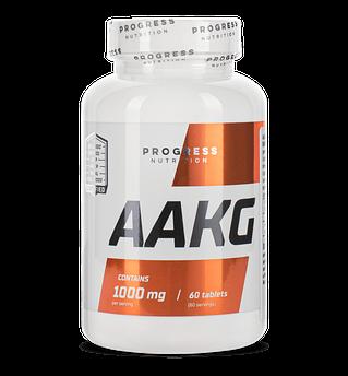 L-аргинин альфа-кетоглютарат Progress Nutrition AAKG 1000 60 таблеток