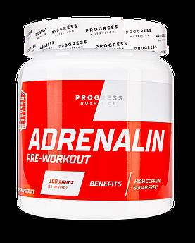 Предтреник Progress Nutrition Adrenalin Pre-Workout 300 грамм апельсин-грейпфрут